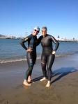 Time to swim in the Bay...brrrrr!