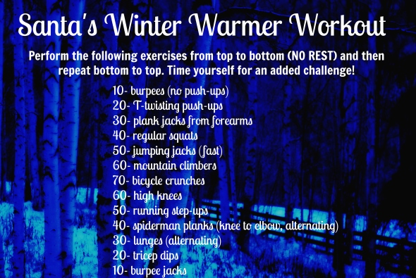 Santa's Winter Warmer Workout
