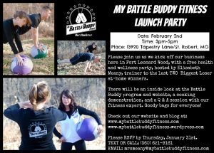 Battle Buddy Launch Invite 2