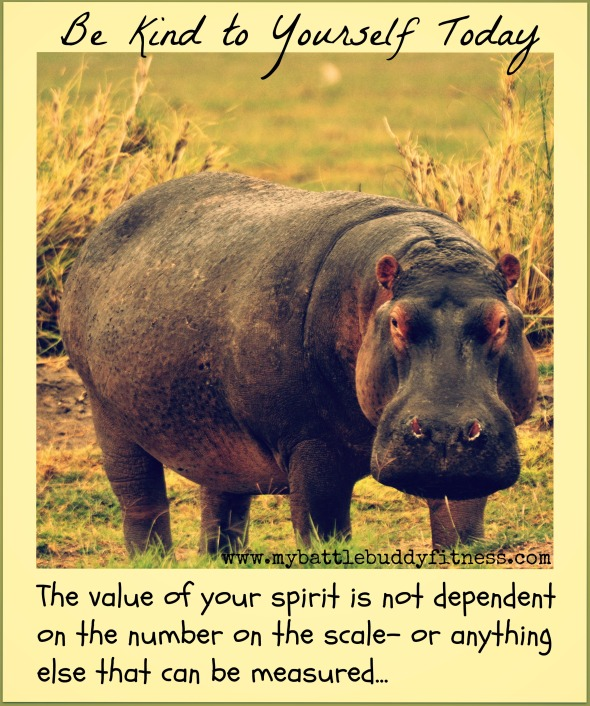 Be Kind to Yourself Hippo