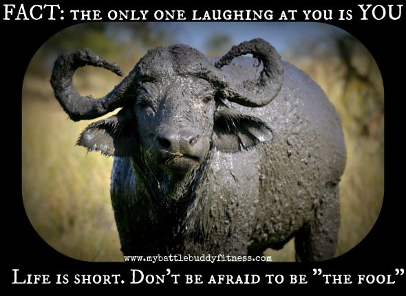 The only one laughing at you is you