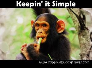 Keepin it simple