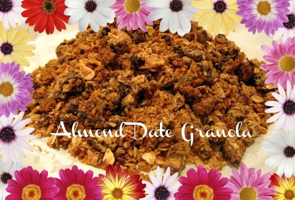 Almond Date Granola